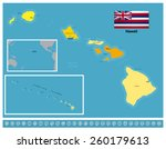 hawaii | Shutterstock .eps vector #260179613