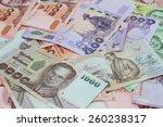 new thailand bank notes | Shutterstock . vector #260238317