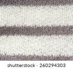 white and purple gray knit... | Shutterstock . vector #260294303