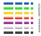 set of the colored glossy... | Shutterstock .eps vector #260359223
