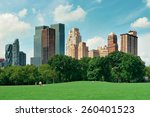 central park spring with... | Shutterstock . vector #260401523