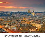 Wonderful View Of Rome At...