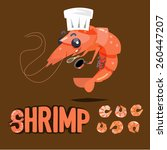 Shrimp Chef Character Design...