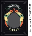 Circus Poster With A Circus...