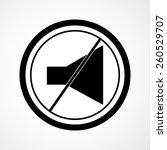 speaker vector icon   Shutterstock .eps vector #260529707