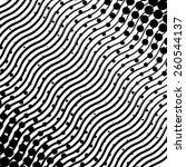 vector abstract halftone... | Shutterstock .eps vector #260544137