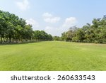 green park and sky | Shutterstock . vector #260633543