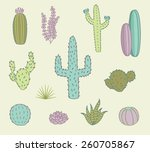 Hand Drawn Cactus Icons
