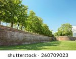 lucca medieval city and... | Shutterstock . vector #260709023