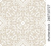 vector seamless pattern with... | Shutterstock .eps vector #260710727