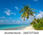 perfect tropical island... | Shutterstock . vector #260727263
