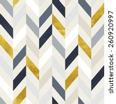 seamless geometric pattern on... | Shutterstock . vector #260920997