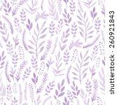 watercolor seamless pattern... | Shutterstock .eps vector #260921843