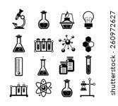 chemistry scientific research... | Shutterstock .eps vector #260972627