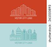 Vector Linear City Logo...