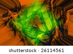 an artistic colored fantasy... | Shutterstock . vector #26114561