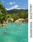krabi thailand  february 28  ...   Shutterstock . vector #261274787