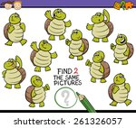 cartoon vector illustration of... | Shutterstock .eps vector #261326057