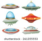 Flying Saucer  Spaceship And...