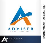 advice logo vector | Shutterstock .eps vector #261358487