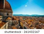 the basilica di santa maria del ... | Shutterstock . vector #261432167