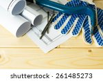 planning of repair of the house.... | Shutterstock . vector #261485273