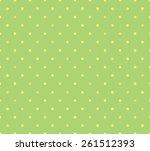 green cloth texture background. ... | Shutterstock . vector #261512393