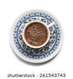 Turkish Coffee Top View