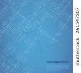 building design background. ... | Shutterstock .eps vector #261547307