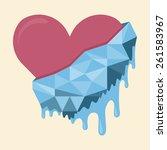 Vector Illustration Of Heart...
