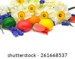 Easter Eggs  Narcissus  Tulip...