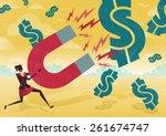 great illustration of retro... | Shutterstock .eps vector #261674747
