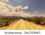 landscapes of northern argentina | Shutterstock . vector #261703967