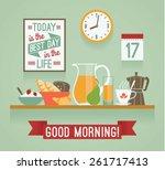 vector modern flat design... | Shutterstock .eps vector #261717413