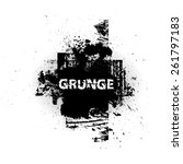 grunge urban background.texture ... | Shutterstock .eps vector #261797183