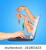 Keys Holding In Fingers From...