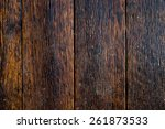 texture of wet wood background. | Shutterstock . vector #261873533