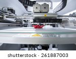 three dimensional printing... | Shutterstock . vector #261887003