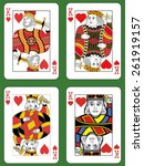 Four Kings Of Hearts In Four...
