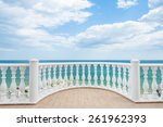 Balcony View On The Sea Shore...