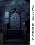 Royal Throne. Dark Gothic...