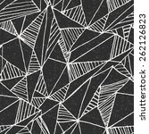 seamless geometric vector... | Shutterstock .eps vector #262126823