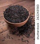wild rice | Shutterstock . vector #262243583