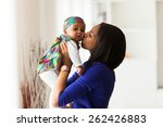Young African American Mother...