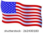 flag of the united states of... | Shutterstock . vector #262430183