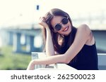 Young Smiling Woman In...