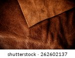 Постер, плакат: Brown Leather Cut for