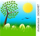 easter illustration | Shutterstock . vector #26262487