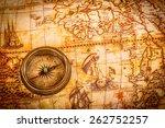 vintage still life. vintage... | Shutterstock . vector #262752257