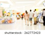 people shopping in department...   Shutterstock . vector #262772423